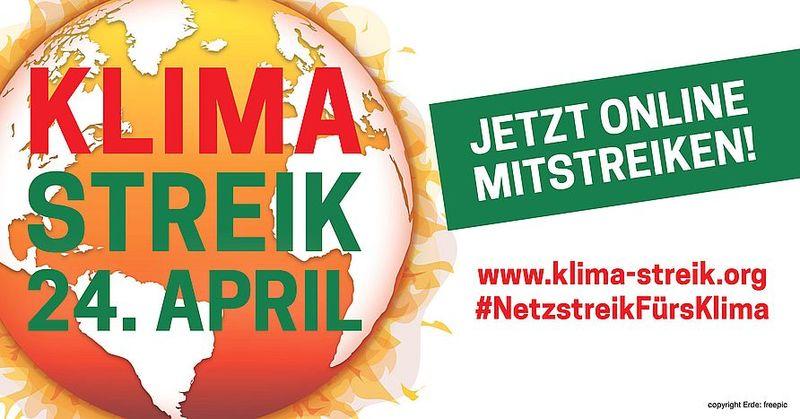 3. Weltweiter Klimastreik am 24. April 2020