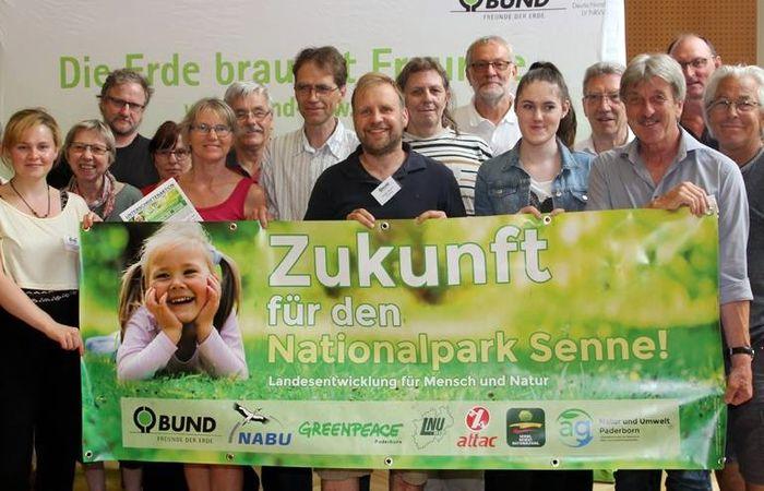 Zukunft für den Nationalpark Senne: Dafür stehen die ostwestfälischen Delegierten des BUND