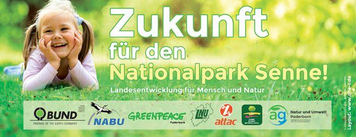 Zukunft für den Nationalpark Senne!