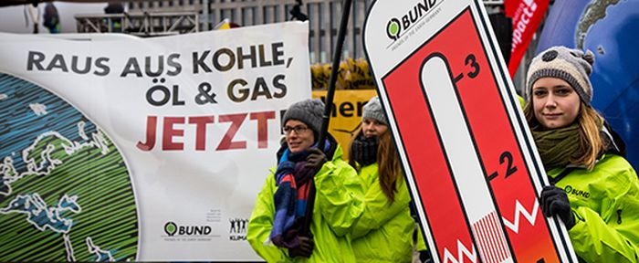 BUND-Aktive beim Global Climate March