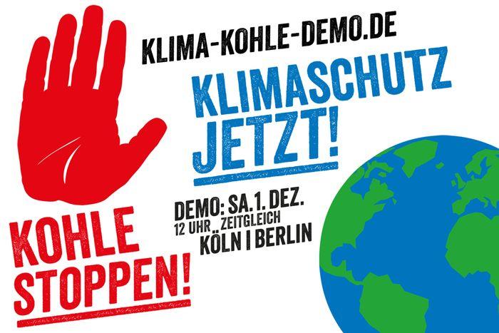 Kohle stoppen - Klimaschutz jetzt!