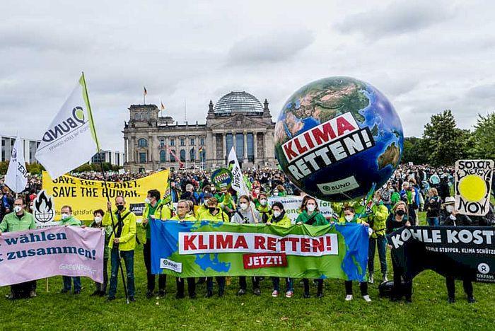 Klimastreik am 24.09.2021 in Berlin