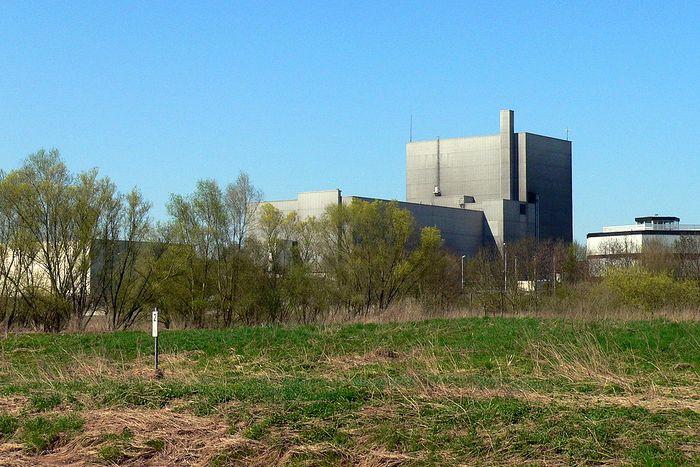 Ehemaliges Kernkraftwerk Würgassen in Beverungen im Kreis Höxter