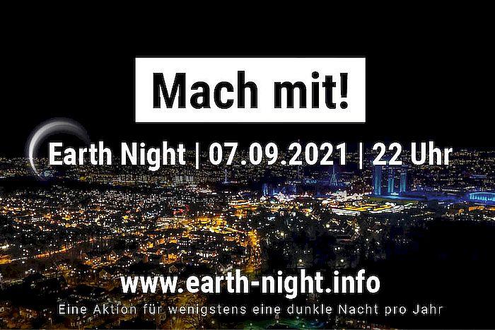 Mach mit! Earth Night 2021