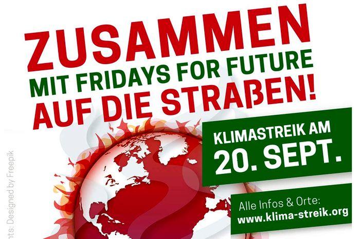 Klimastreik am 20. September 2019