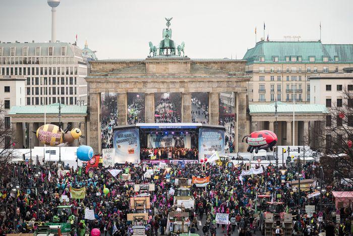 Wir haben es satt! - Demonstration in Berlin