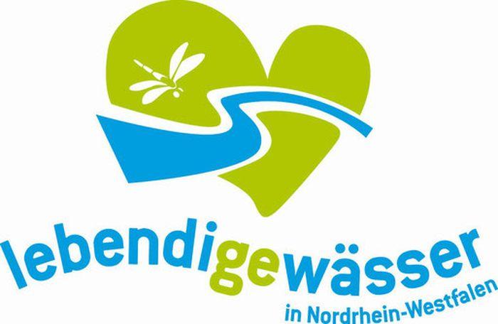 Logo: Lebendige Gewässer in Nordrhein-Westfalen