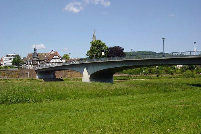 Weserbrücke in Höxter